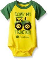 John Deere Baby Love My Tractor Bodyshirt