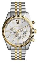 Michael Kors Two-Tone Lexington Chronograph Watch