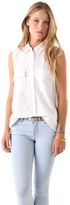 Signature Sleeveless Blouse