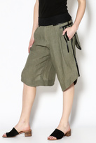 Gary Graham Olive Knee Length Shorts
