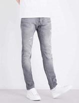 Philipp Plein Logo slim-fit skinny jeans