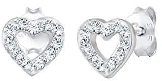 Elli Women's Silver Stud Earrings 304421818