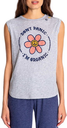 PJ Salvage Don't Panic I'm Organic Muscle Tank
