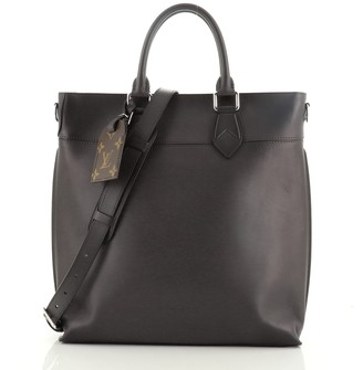 Louis Vuitton Cuir Ombre Tote Leather