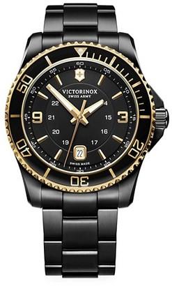 Victorinox Maverick Stainless Steel Analog Bracelet Watch