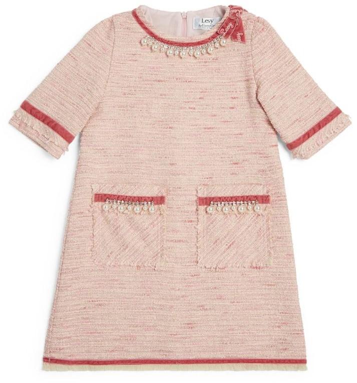 Lesy Embellished Tweed Dress (4-14 Years)