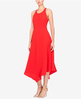 Catherine Malandrino Handkerchief-Hem Fit and Flare Dress