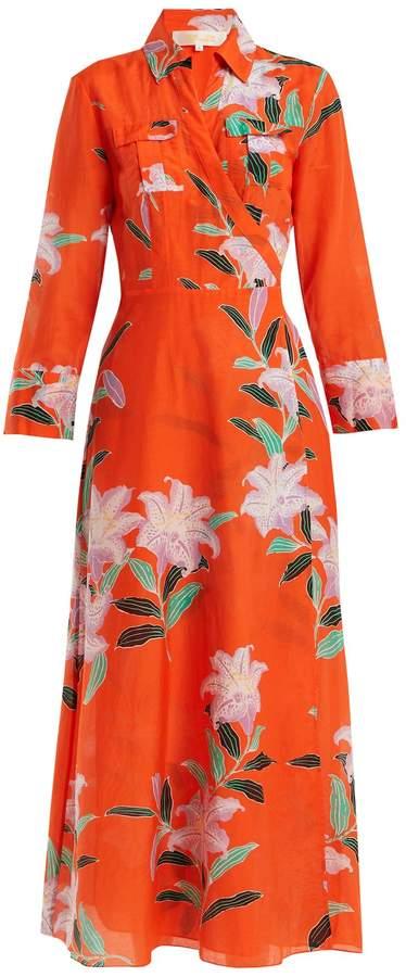 Diane von Furstenberg Floral-print wrap dress
