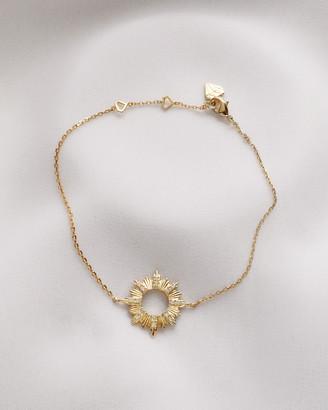 Wanderlust + Co Sunseeker Gold Bracelet