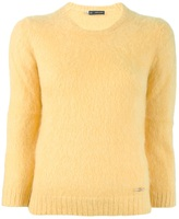 Dsquared2 cropped sleeve jumper