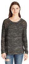 Volcom Junior's Twista Sista Oversized Pullover Sweater
