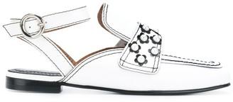 Nicole Saldaña Embellished Loafers