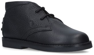 Tod's Leather Polacco Boots