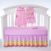 Halo SleepSack® Jumbo's Flower Garden 5-Piece Bumper-Free Crib Set