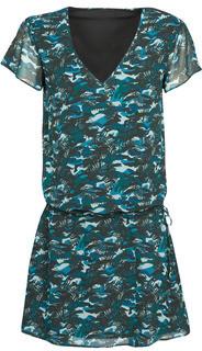 Ikks BQ30265-03 women's Dress in Blue