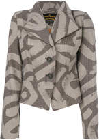 Vivienne Westwood fitted patterned jacket