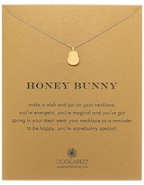 Dogeared Honey Bunny Reminder Necklace