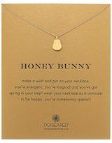 Dogeared Honey Bunny Reminder Necklace