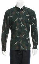 Givenchy Paisley & Plane Print Shirt