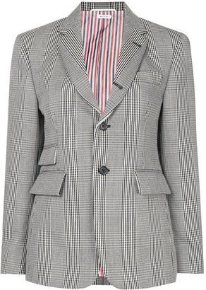 Thom Browne Prince of Wales check blazer