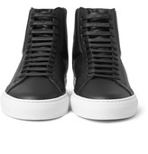 Givenchy - High-top Leather Sneakers
