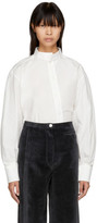 Lemaire White Twisted Shirt