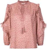 Ulla Johnson ruffle sleeve blouse