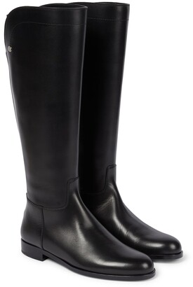 Loro Piana Welly leather boots