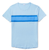 Orlebar Brown Harry Slim-Fit Striped Slub Cotton-Jersey T-Shirt