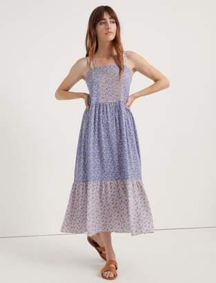 Lucky Brand Pomegranate Crepe Prairie Dress