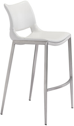 ZUO Set Of 2 Ace Bar Chairs