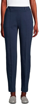Lands' End Women's Sport Knit Pull-On Tapered Pants