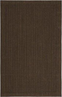 Lauren Ralph Lauren Huxley Chocolate Area Rug Rug Size: Rectangle 5' x 8'