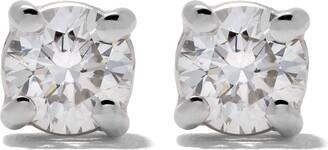 Wouters & Hendrix Gold 18kt Gold Diamond Stud Earrings