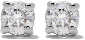 Wouters & Hendrix Gold 18kt Gold Diamond Stud Earrings