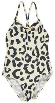Douuod Sale - Fotogramma Leopard 1P Cross Back Swimsuit
