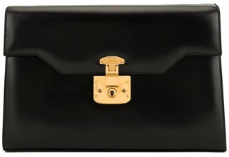 Gucci Pre-Owned Lady Lock clutch