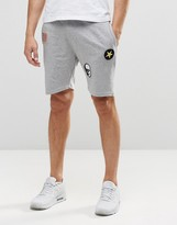 ONLY & SONS Jersey Shorts with Badge Details and Drawstring Waist