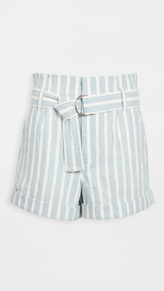 Frame Casual Linen Shorts