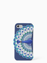Kate Spade Silicone peacock iphone 7 case