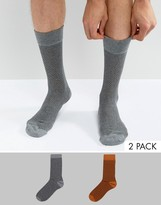 Selected Homme 2 Pack Sock