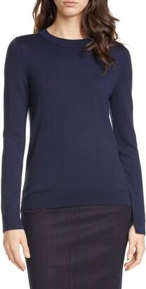 HUGO BOSS Fegan Merino Wool Knit Sweater