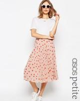 Asos Polka Dot Midi Skirt