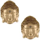 Rachel Roy Gold-Tone Buddha Stud Earrings