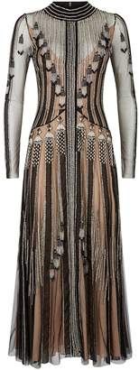 Temperley London Moonlight Embellished Tulle Cocktail Dress