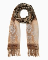 Charming charlie Jacquard Tapestry Blanket Scarf