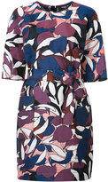 Paule Ka floral print dress - women - Cotton/Linen/Flax/Polyester/Cupro - 40