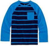 Okie Dokie Raglan Stripe Tee - Preschool Boys 4-7