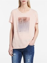 Calvin Klein Ombre Caviar V-Neck T-Shirt