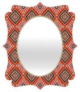 DENY Designs Bohemian Farmhouse Geo Quatrefoil Mirror